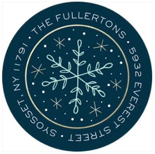 Sweet Snowfall Address Label