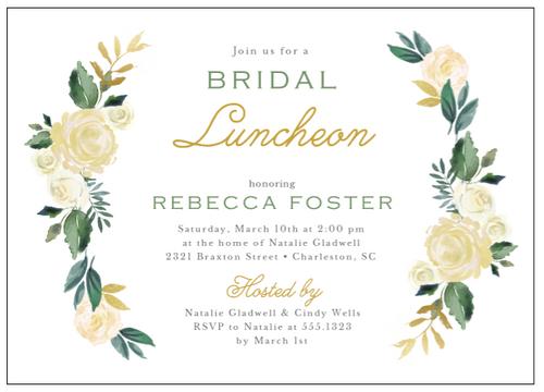 Bridal Blooms Invitation