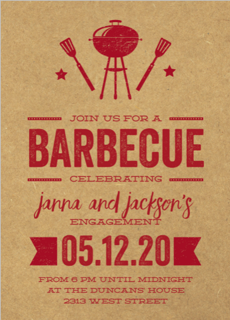 BBQ Bash Invitation