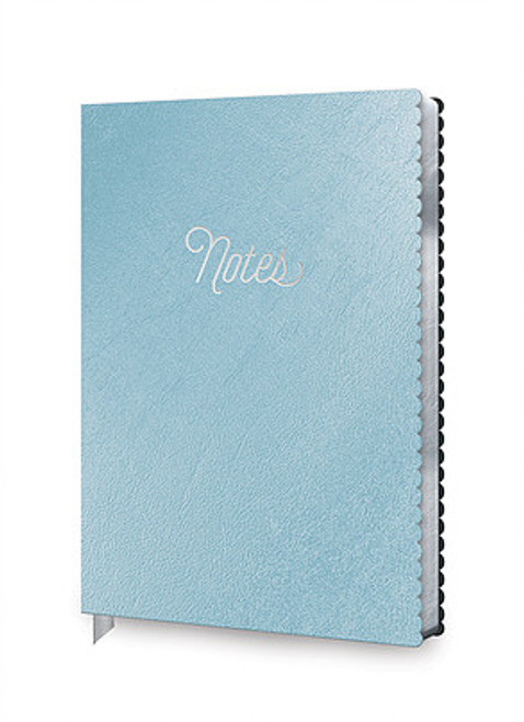 metallic notes journal
