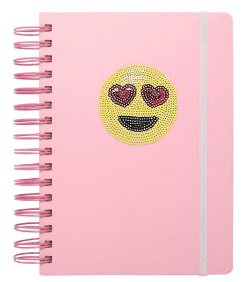 3-in-1 emoji notebook