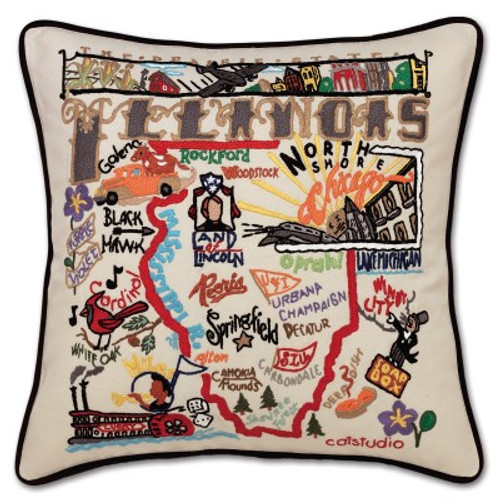 Illinois Pillow