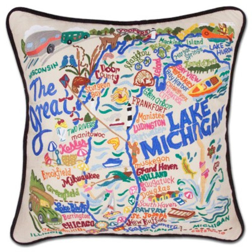 Lake Michigan Pillow
