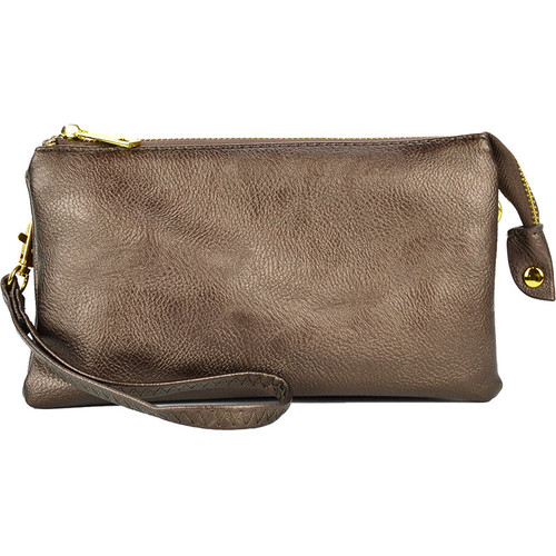 Bronze Clutch/Crossbody