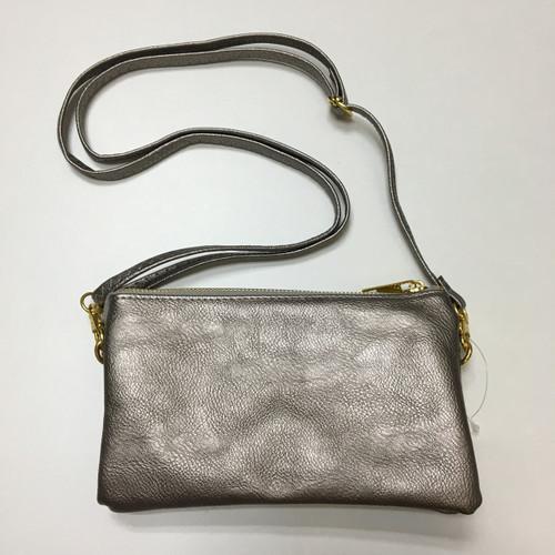 Silver Clutch/Crossbody