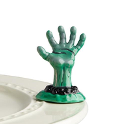 nora fleming haunted hand mini
