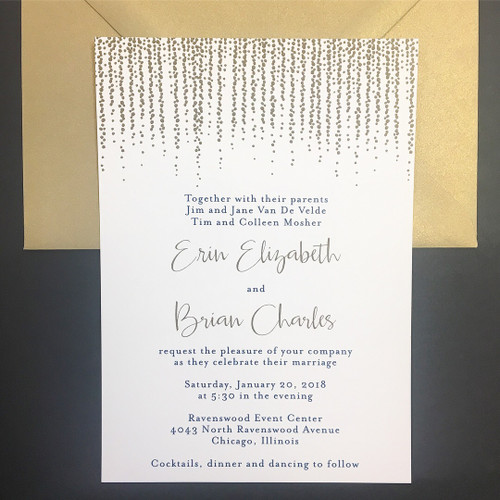 Erin and Brian: Wedding Invitation