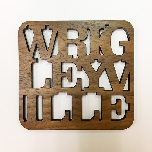 Wrigleyville Wooden Coaster Set