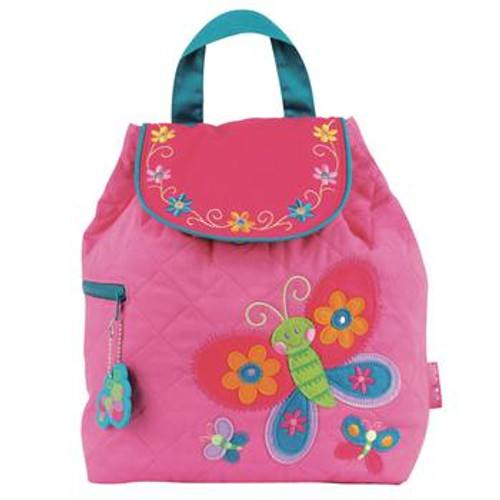 Butterfly Quilted Backpack