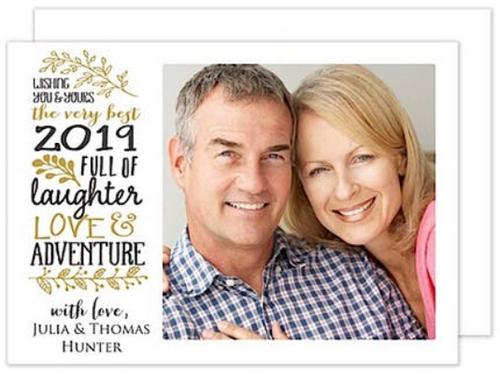 Love, Laughter & Adventure Holiday Card