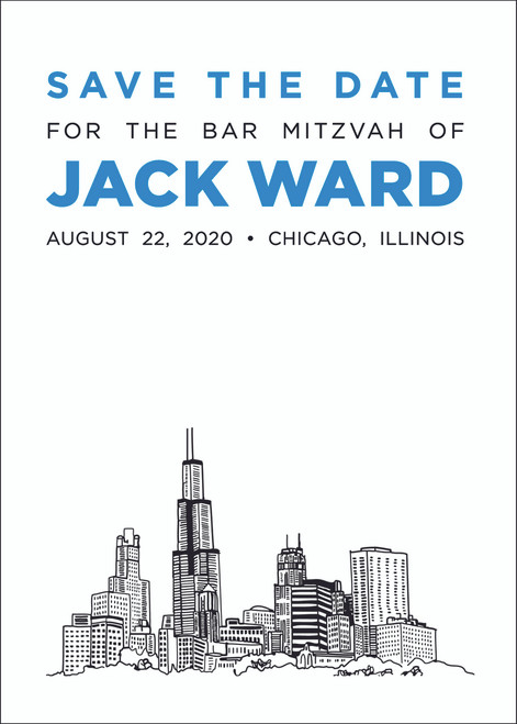 Sketchy Skyline: Bar Mitzvah