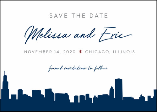 Navy Skyline: Save The Date