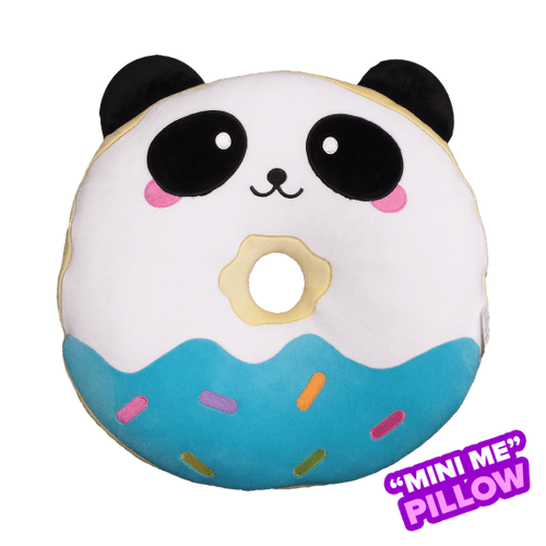 Panda Donut Mini Pillow