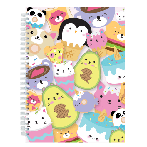 Foodie Animals 3D Journal