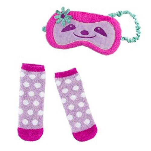 Sloth Eye Mask & Sock Set