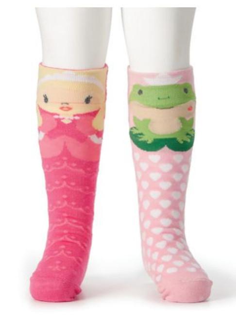 Princess & Frog Knee Socks