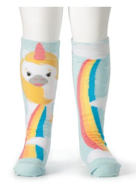 Unicorn & Rainbow Knee Socks