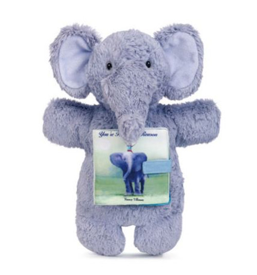 You're Here For a Reason Elephant Puppet and Book Set