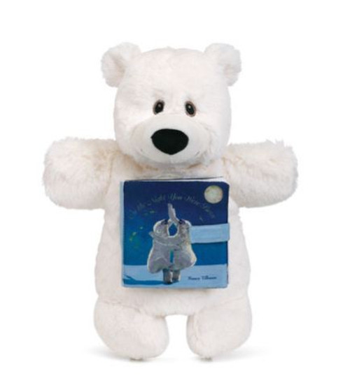 On the Night You Were Born Bear Puppet and Book Set