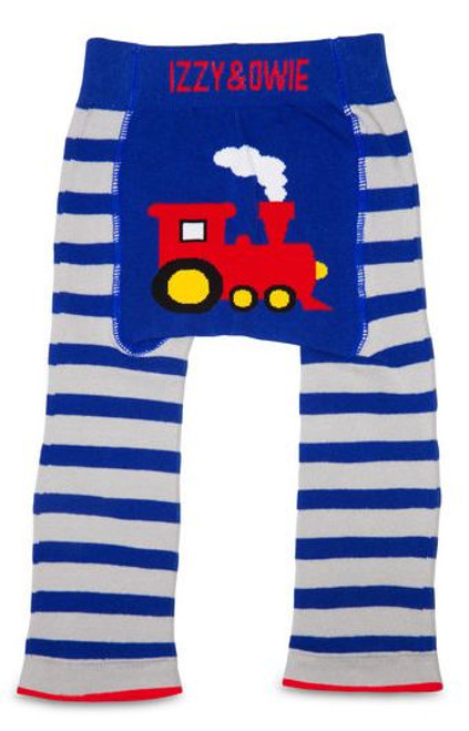 Train Leggings and Bib Set