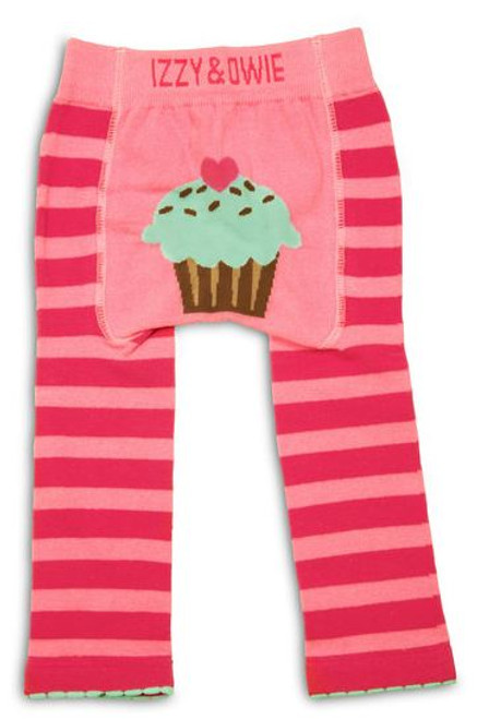 Cupcake Leggings and Bib Set