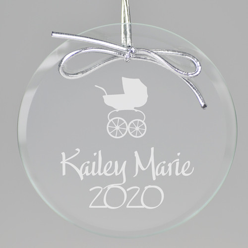 Baby Carriage Ornament