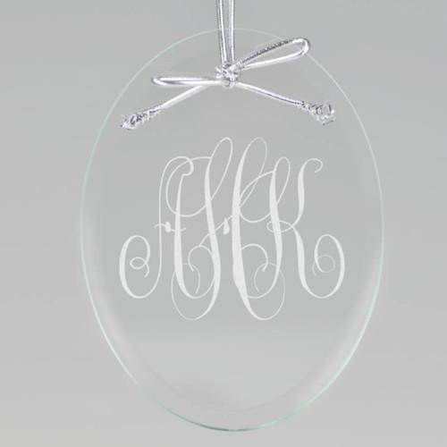 Oval Monogram Ornament