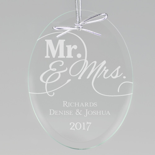 Mr. and Mrs. Ornament