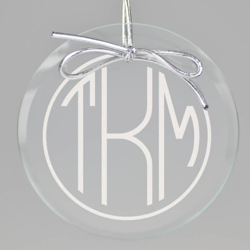 Circle Terrace Monogram Ornament