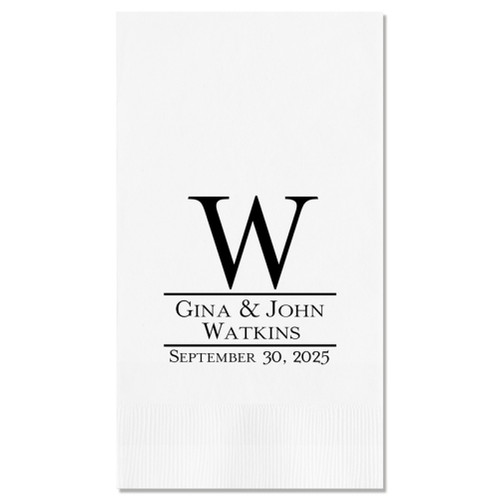 Established Guest Towel