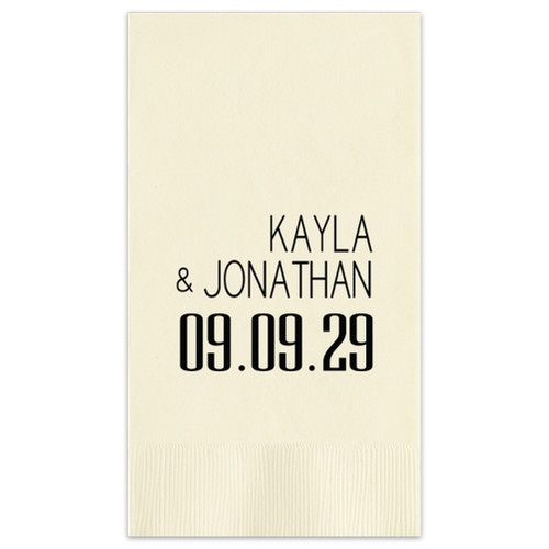 Soho Wedding Guest Towel