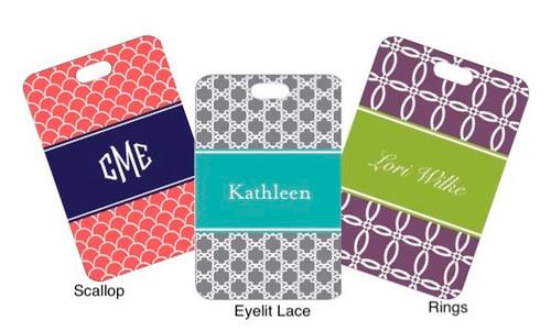 Custom Luggage Tag Set