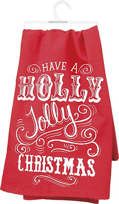 Holly Jolly Dish Towel