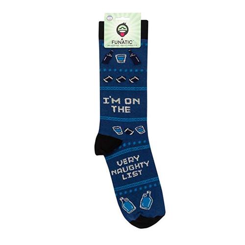 Very Naughty List Socks
