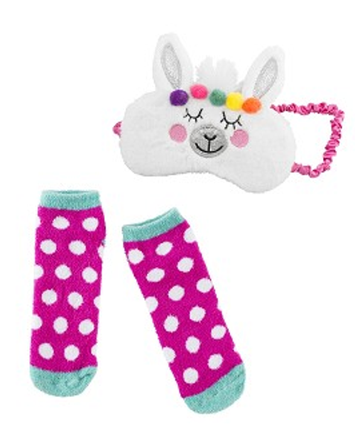 room decor gifts personalized name llama eye mask sock set gifts teens tweens room decor page noteworthy notes