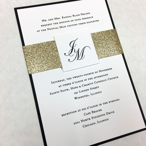 Jennifer and Maciej: Wedding Invitation