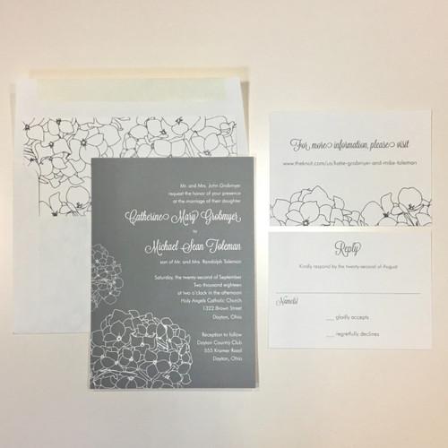 Catherine and Michael: Wedding Invitation