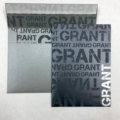Grant: Bar Mitzvah Invitation