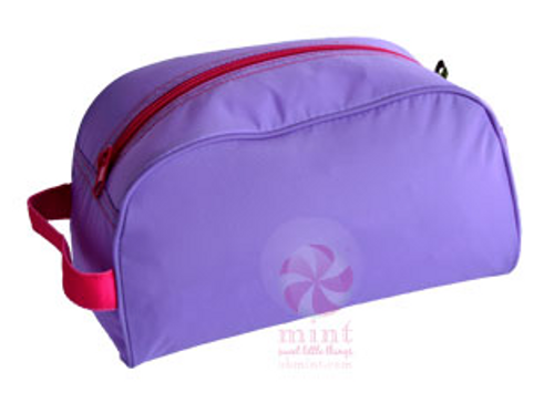 Lavender and Pink Dopp Kit