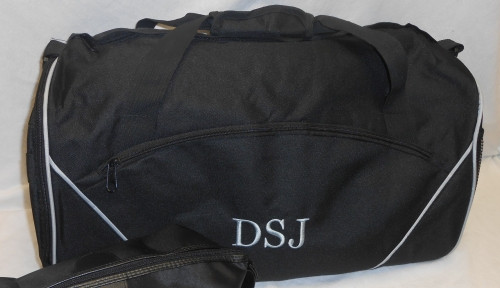 Black Athletic Duffel