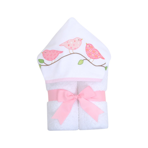 Birds Hooded Towel