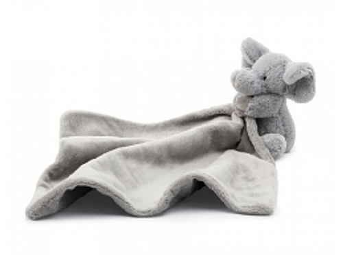 Jellycat Bashful Elephant Soother
