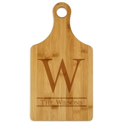 Newton Paddle Cutting Board