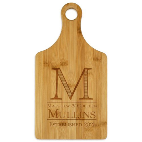 Established Paddle Cutting Board