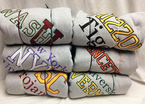 Sweatshirt Blanket - Add your college