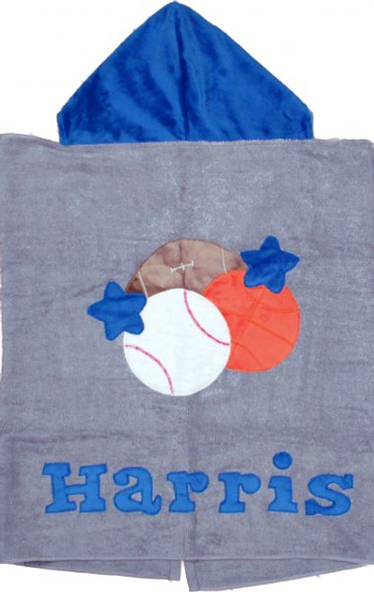 Sports Hooded Towel