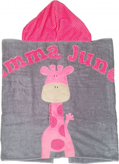 Giraffe Hooded Towel (Multiple Options)