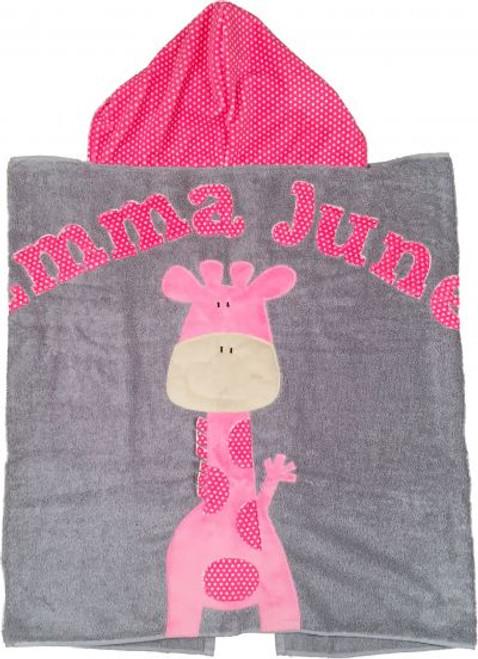 Giraffe Hooded Towel (Multiple Options)