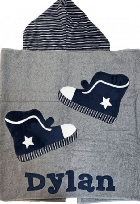 Sneakers Hooded Towel