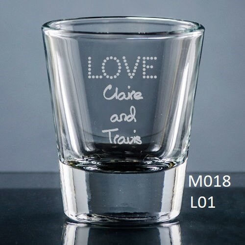 Nuptial Shot Glass - 10 icons